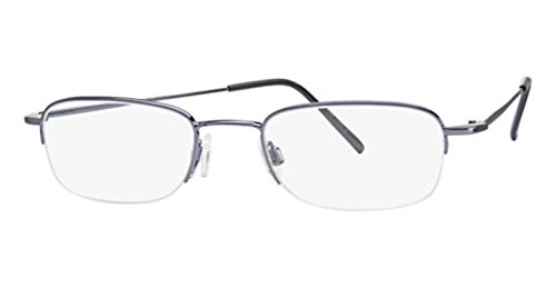 Flexon Flx 807Mag-Set Eyeglasses 401 Steel Blue Demo 49 20 140 ()