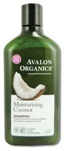Moisturizing Coconut Shampoo Avalon Organics 11 oz (Avalon Coconut)