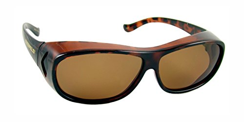 Overalls Sunglasses with Polarized Tortoise and Brown Lens – DiZiSports Store