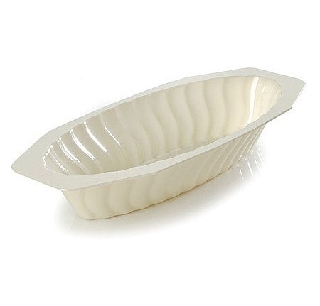 Fineline Settings Flairware White 15 Oz Serving Boat, 300 Pieces