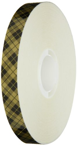 (Scotch ATG Adhesive Transfer Tape Acid Free 908 Gold, 0.50 in x 60 yd 2.0 mil (Case of 12))