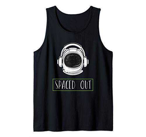 Funny Spaced Out Astronaut Tank Top