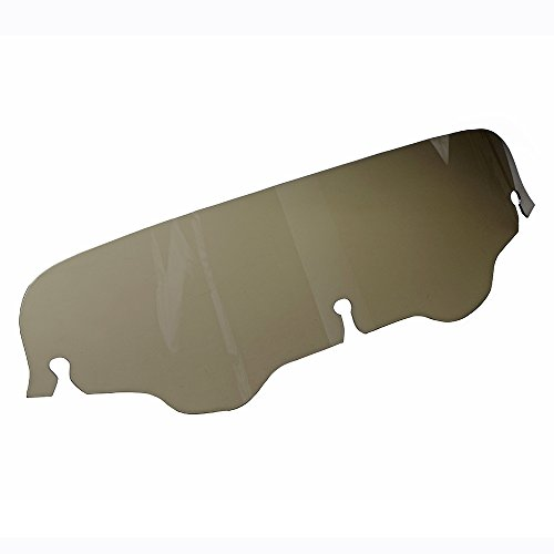 Smoked Windshield (1X Smoked Dark 4 Inch Windshield For 1996-2013 Harley Touring Street Glide)