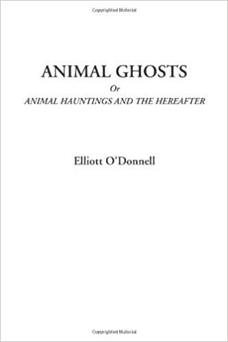 Animal Ghosts Or Animal Hauntings and the Hereafter