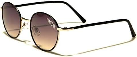 Metal Round Frame 70's 80's Retro Women's Fashion Sunglasses