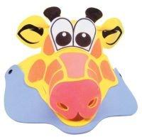 Giraffe Kids Animal Visor - Foam (Animal Visor Hat)