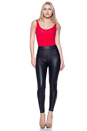 Cemi Ceri J2 Love Made In USA Sexy Stretchy Faux Leather Leggings (up To 5X) by Cemi Ceri (Image #1)'
