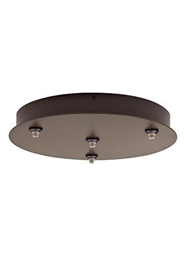 Tech Lighting 700FJR4S277 FreeJack-Round Canopy 4-port, 277/12, 14.45