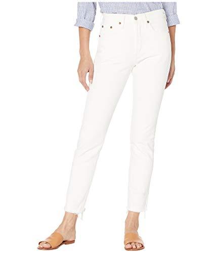 Levi's Women's 501 Skinny Jeans, Crystalline, White, 25