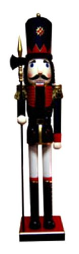Nutcrackers Life Size Large Spear Collections [70374] -