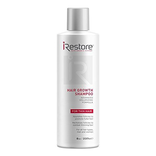 iRestore Hair Growth Shampoo - w/Castor Oil, Amino Acids, Aloe Vera, Antioxidants, Green Tea Extract