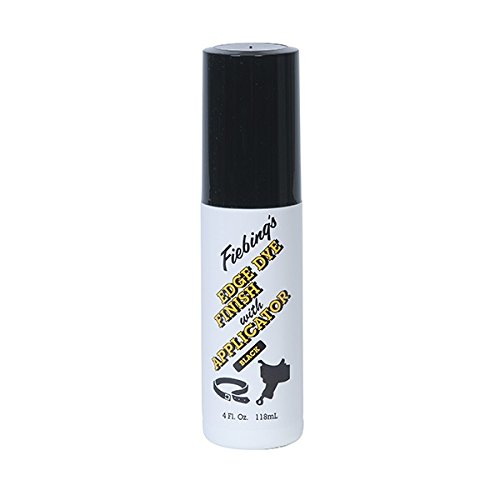 - Fiebing's Edge Dye Finish & Applicator, Black, 4 oz