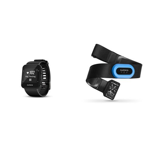 Garmin Forerunner 35 Watch and HRM-Tri Heart Rate Monitor, Black