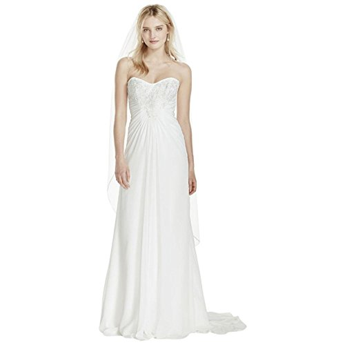 SAMPLE-Strapless-Chiffon-Sheath-Wedding-Dress-with-Lace-Style-AI10020579