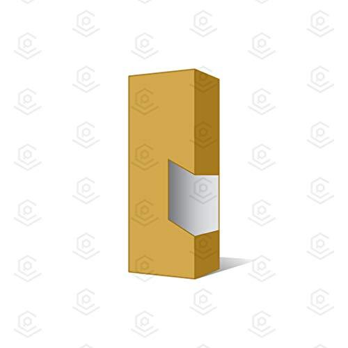 Blank Vape Cartridge Packaging Empty Boxes | Shiny Gold Half Gram - 100 Packs