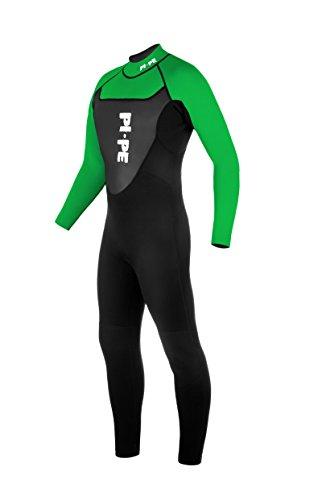PI-PE Herren Neoprenanzug Active Full Long Sleeve, Green, XL, PNA-2-G