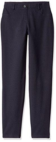 Dockers Capri Pants (Dockers Big Girls' Uniform Jegging, Navy, 12)