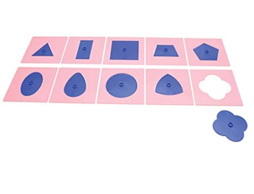 Amazing Child Montessori Plastic Insets for Design