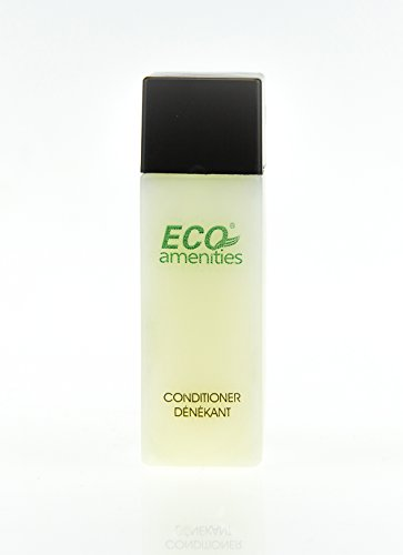 ECO AMENITIES Travel Size Bottle Hotel Conditioner Bulk, White, 1 Ounce, 288 Count by ECO Amenities (Image #5)