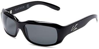 Kaenon Bolsa Sunglasses,Black Frame/Polarized G12 Lens,one size