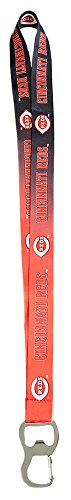 (Pro Specialties Group MLB Cincinnati Reds Ombre Lanyard, Red, One Size )