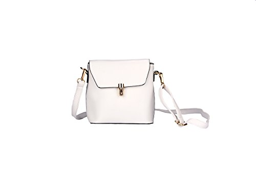 Crossbody Bag PU Leather Small Cute Casual Shoulder Puese for Women Teen Girls by Jeniulet