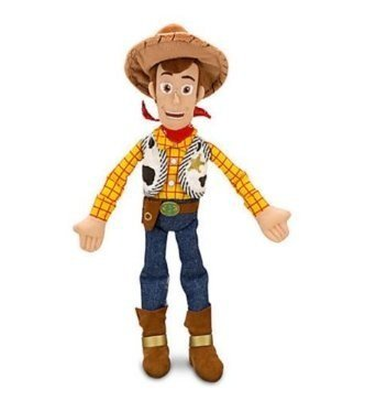 Disney Woody Plush - Toy Story - Mini Bean Bag 12'' ()