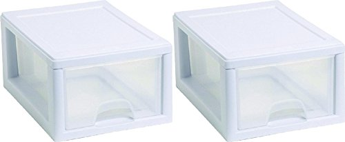 Sterilite 20518006PK2  Sackable Storage Drawer, Pack of 2 (Drawers Storage Sterilite)