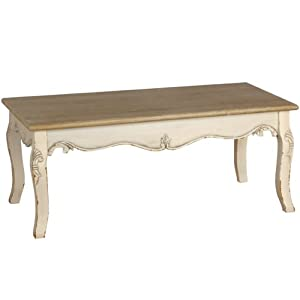 shabby chic french style country coffee table full range of matching furniture is available. Black Bedroom Furniture Sets. Home Design Ideas