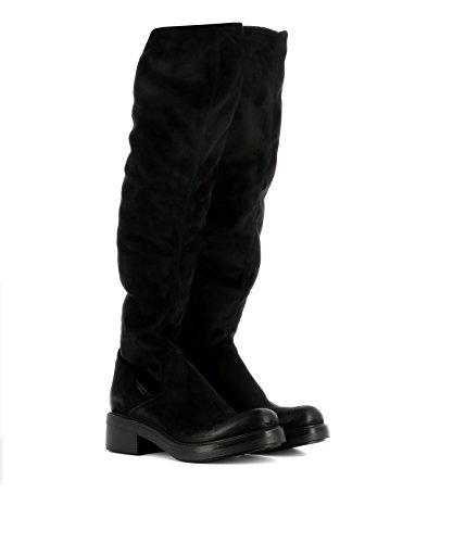 Strategia Vrouwen P22301 Zwarte Suède Laarzen