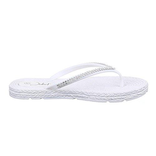 Ital-Design - Sandalias / Sandalias Mujer Blanco - blanco