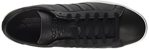 adidas Unisex Adults' Courtvantage Trainers Black (Core Black/Core Black/Core Black) uxR9C0zXhz