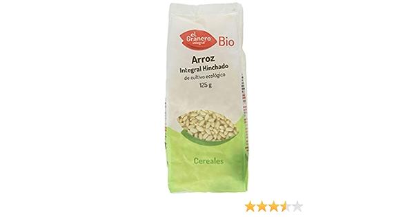 ARROZ INTEGRAL HINCHADO BIO 125 gr: Amazon.es: Salud y ...