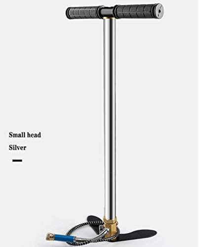 PCP Hand Pump 3 Stage for Filling High Pressure air 40MPA, 300BAR, 4500PSI into Hunting Airguns, Air Rifles, and Paintball