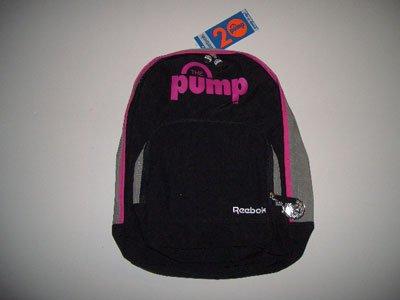Reebok Rucksack Pump Backpack. Robustes, strapazierfähiges Material, Verstellbarer, gepolsterter Trageriemen und Rückenteil. Maße :42 x 32 x 20 cm
