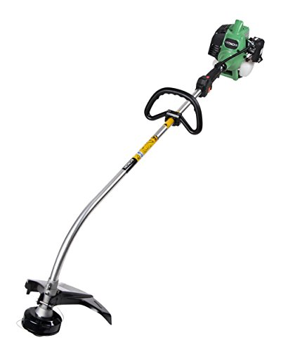 Hitachi CG22EAP2SLB 2-Cycle Gas Powered Curved Shaft String Trimmer, 21cc