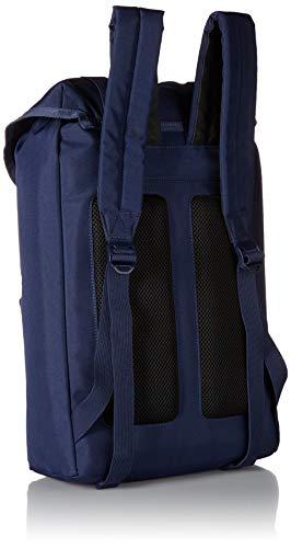 Lacoste Men's Neocroc Flap Backpack, Peacoat, 00 by Lacoste (Image #2)