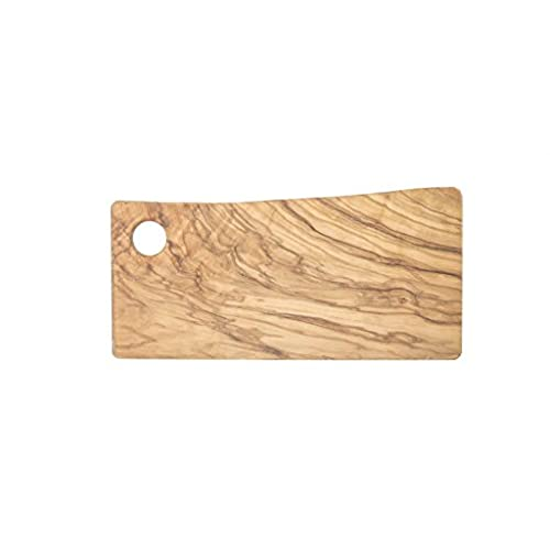 Cutting Board For Food Preparation And Presentation   Premium Natural OLIVE  WOOD Chopping Board MADE IN ITALY   Perfect In Kitchen, On Table Or To  Share ...