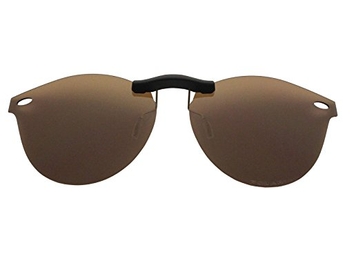 Custom Fit Polarized CLIP-ON Sunglasses For Ray-Ban RB2180V 47X21 - Affiliate Sunglasses