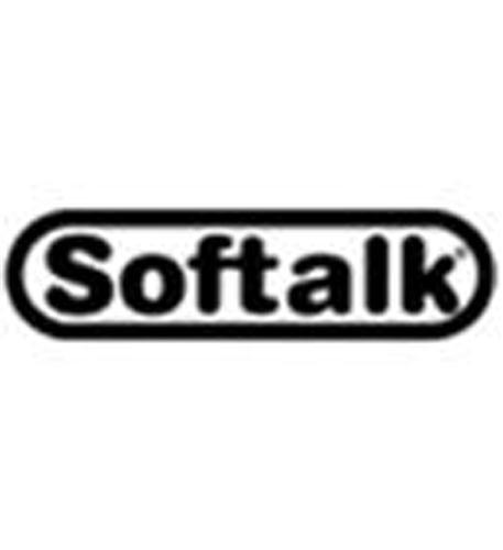 SOFTALK LLC 102M Softalk Standard Telephone Shoulder Rest, 2-5/8W x 7-1/2D x 2-1/4L, Charcoal