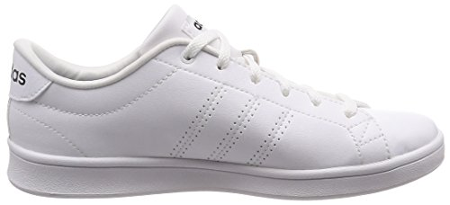Femme Basses Blanc Black White 0 Sneakers Advantage Footwear Clean White Core QT Footwear adidas qHwXpSx