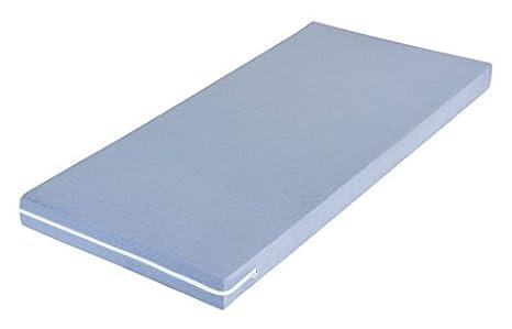 M& M's MSS - Materasso per bambini MSS tinta unita 70 x 140 cm blu 100700-KB-140.70.11