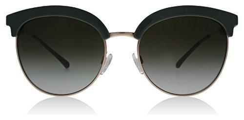 Emporio Armani EA4102 56097Z Sage/Rose Gold EA4102 Round Sunglasses Lens - Sunglasses Gold Armani