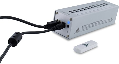 Apricorn Aegis Configurator On USB Key Bundled with Approved 10-Port USB Hub with 5 Amp Power Supply and Windows Based Software