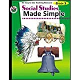 img - for Social Studies Made Simple, Grade 3 by Pierce, Q L (2001) Paperback book / textbook / text book