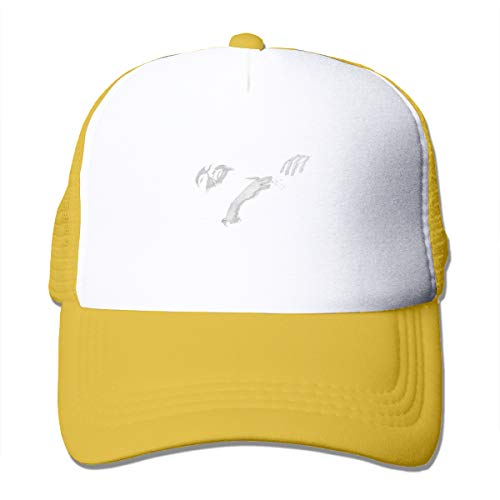 Men Womens Youth Boys Baseball Cap Washed Dyed Cotton The-Smiths Qu-EEN is Dead Adjustable Dad Hat Yellow ()