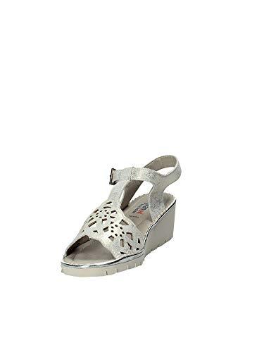 Sandales Compensées Femmes 11108 35 Jaune Callaghan wRfq4aC7n