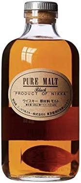 Nikka–Pure Malt Black Whisky (1x 0.5l)