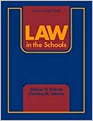 Book Law in the Schools 6th (sixth) edition Text Only