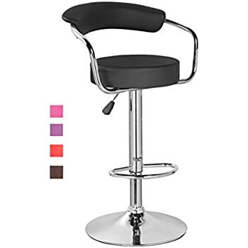 Amazon Com Kerland Pu Leather Swivel Adjustable Seat